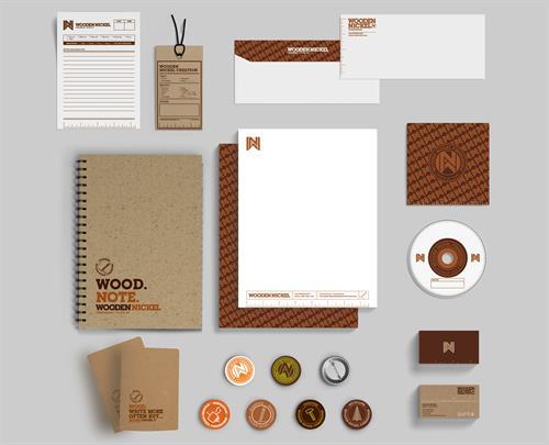 Wooden Nickel Furnishings Identity Package