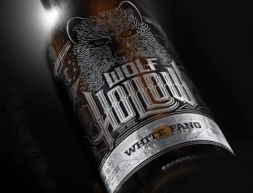 Wolf Hollow Brewery Package Design