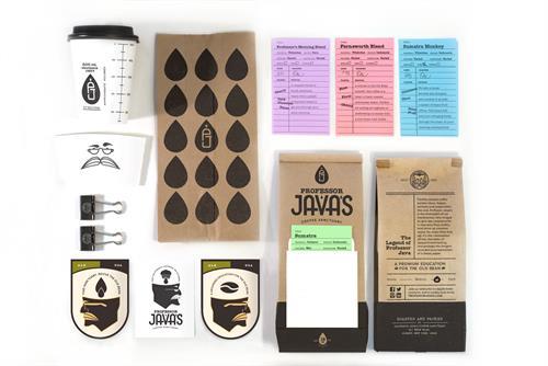 Professor Java's Coffee Identity