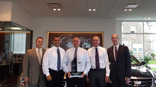 Baierl Cadillac Earns Master Dealer Title