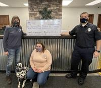 My Dog's Care Center Wraps up 2020 Philanthropic Campaign for Harmony Fire District