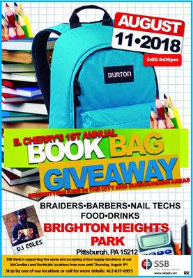 Ssb Collecting School Supply Donations For Book Bag Giveaway Aug 11th Members Pittsburgh North Regional Chamber