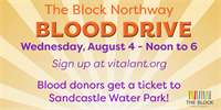 The Block Northway to host Blood Drive