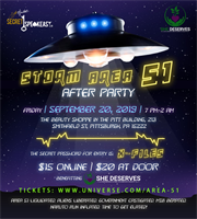 Charity Event: Storm Area 51 After Party Member Deal