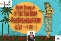 Secret Speakeasy: In The Tiki Room by Seth Neustein charity event
