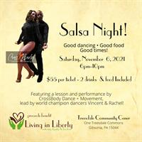 Living in Liberty Salsa Night!