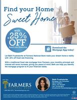 Save an additional .25% off a fixed interest rate for any qualifying borrower on both purchases AND/OR refinance.