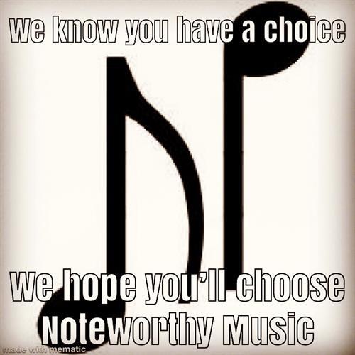 We hope you'll choose us!