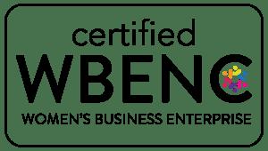 We re WBENC certified