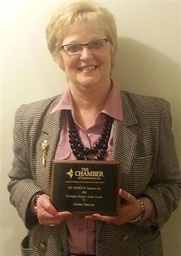 2012 Prestigious Business Leader of the Year Award - Chamber