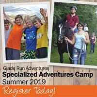 Glade Run Offers Specialized Adventures Camp
