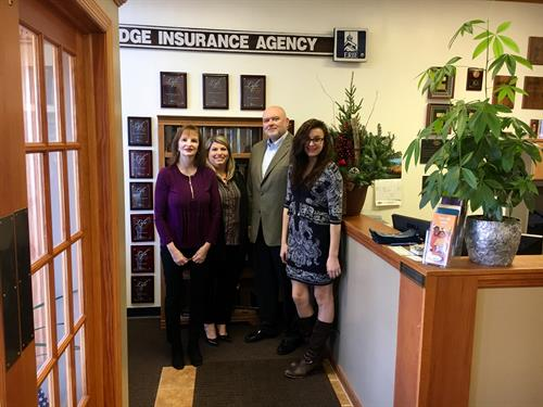 Ridge Insurance Agency Inc., Staff