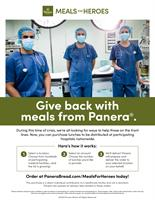 Panera Launches Meals for Heroes Program