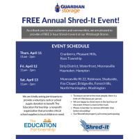 Guardian Storage Free Shred It Event