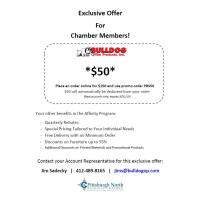 Bulldog gives exclusive offer for Chamber Members!