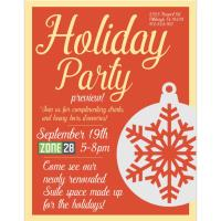 Holiday Preview Party at Zone 28