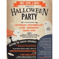 Once Upon A Hero Halloween Party 10/26
