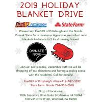 Zirnsak State Farm Insurance Holiday Blanket Drive