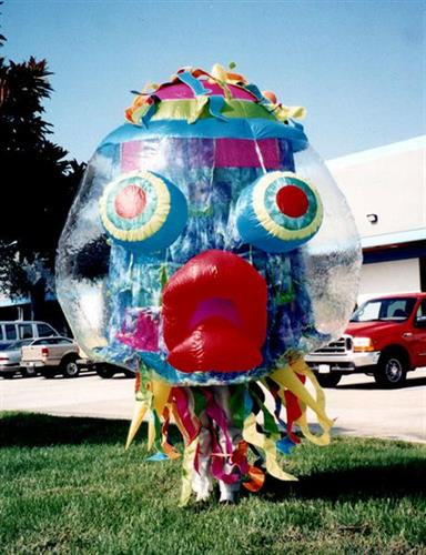 Giggly jelly inflatable costumes