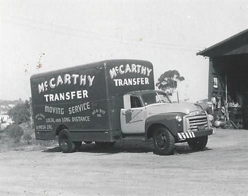 One of our trucks in the 50's