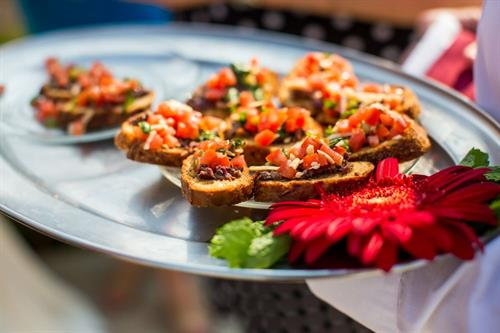 Fresh Made Bruschetta Appetizers