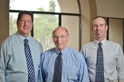 Bob Burton, Andy Kimari, Scott Kimari