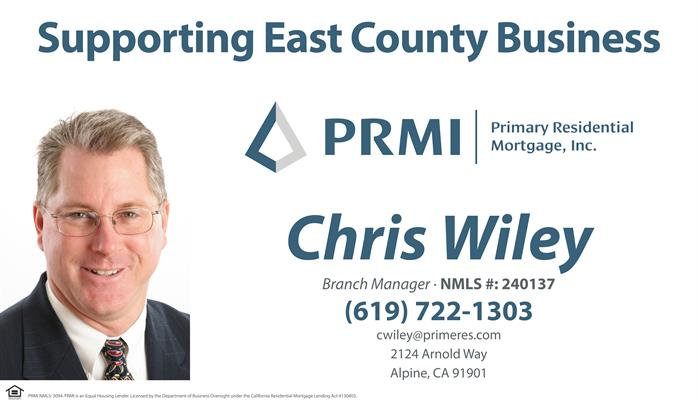 Primary Residential Mortgage, Inc. - Chris Wiley