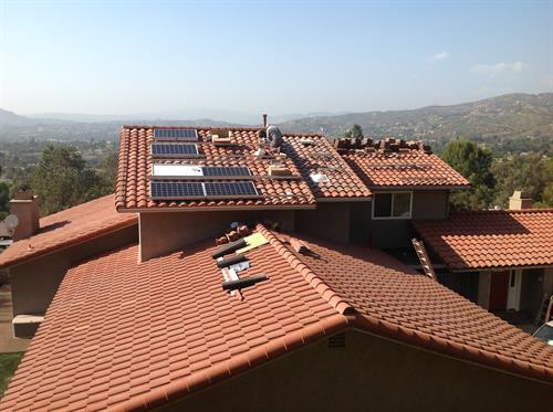 Solar Work in Process