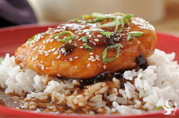 Simmered Chinese Chicken with Jasmine Rice
