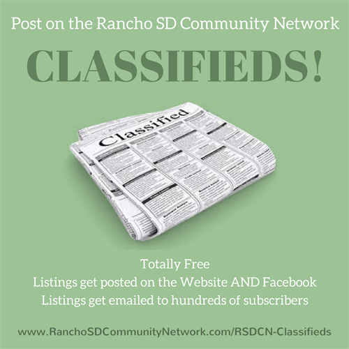 Buy, sell, and trade! Our classifieds are FREE to post on!