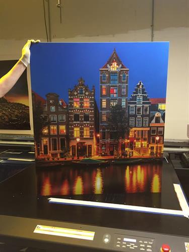 UV Printing on canvas