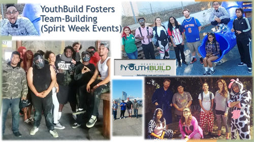 YouthBuild fosters special team-building events.