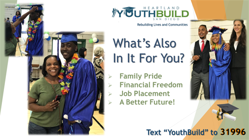 YouthBuild students earn family pride, financial freedom -- and a better future!