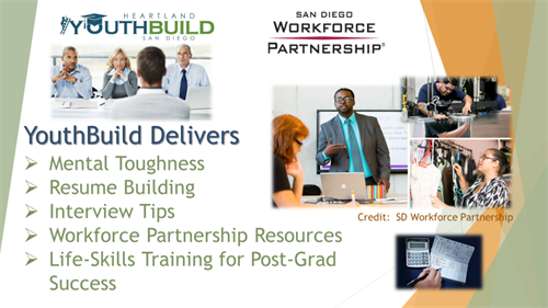 YouthBuild delivers life-skills training through a variety of partners.