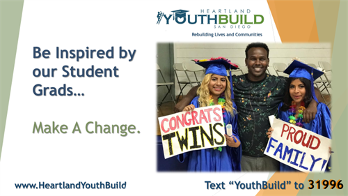 YouthBuild and its partners work to change lives.