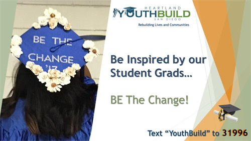 YouthBuild grads work for a better life and thriving communities.