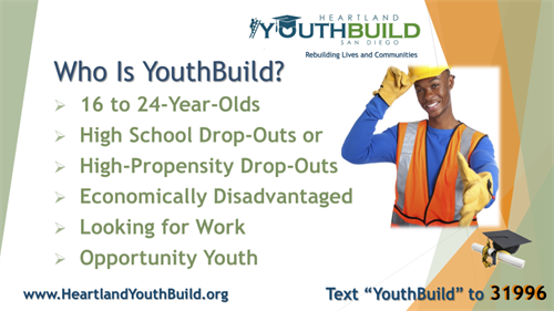 Whom can YouthBuild help?