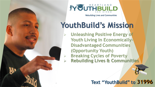 Our mission is to tap into the unleashed potential of our youth and create hope for the future.