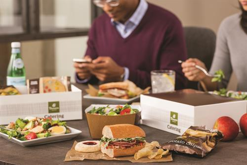 Boxed Lunches are perfect for a grab-n-go option!