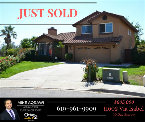 Another one JUST SOLD by Mike AQRAWI