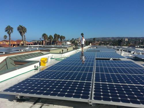 Solar Panel cleaning for HOA's