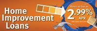 Home Improvement Loan as low as 2.99% APR