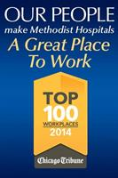 Methodist Hospitals was named a Top Workplace by the Chicago Tribune!