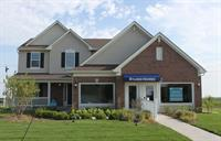 Sales office and model at the Edgewater Community in Crown Point.