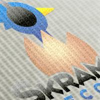 Skramble Records Branding