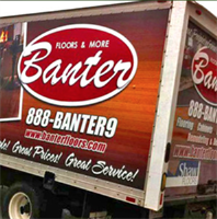 Banter Flooring Box Truck Wrap