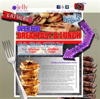 Jelly Pancake House Web Design
