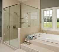 We do custom shower doors for a beautiful finish to your remodeling project.