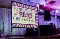 Get your message or Logo across on Projection Screens or TVs!
