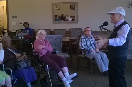 Music and art keep Journey Senior Living's residents mentally active